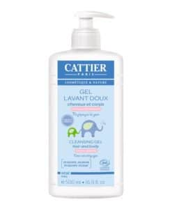 CATTIER GEL DE BAÑO BEBE 500 ML.